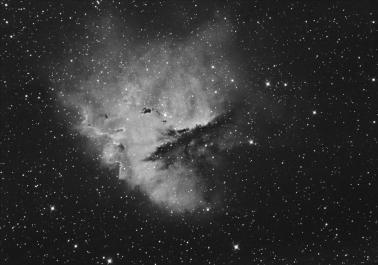 Pacman nebula Halfa
