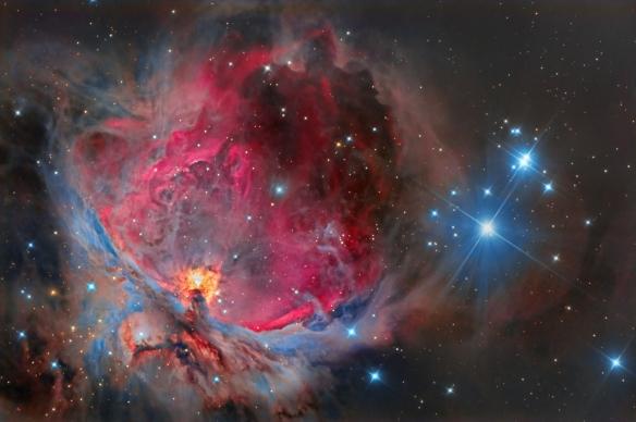 Grande nebulosa di Orione m42